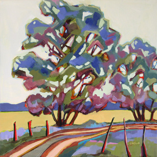 tree painting by Carolee Clark