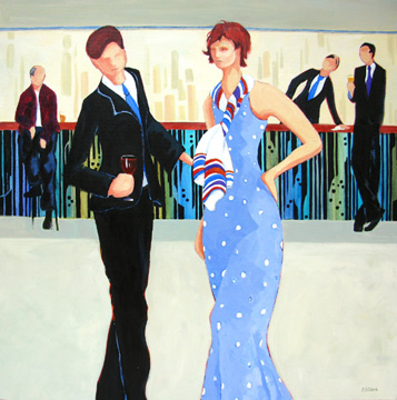contemporary figure painting by Carolee Clark